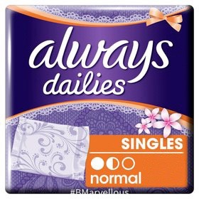 Always Dailies Singles Normal Wrapped