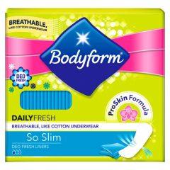 Bodyform Daily Fresh ProSkin Deo Fresh So Slim Liner Wrapped