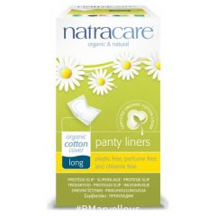 Natracare Organic Cotton Long Single Wrapped Liner
