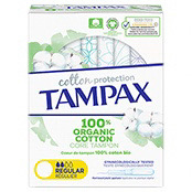 Tampax Organic Cotton Protection Regular Tampon Applicator