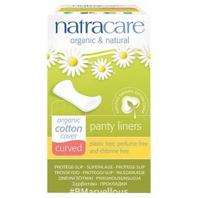 Natracare Organic Cotton Curved Liner