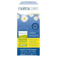 Natracare Organic Cotton Regular Applicator Tampon