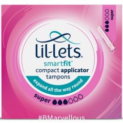 Lil-let's SmartFit Compact Super Applicator Tampon