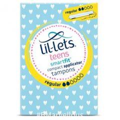 Lil-let's Teens SmartFit Regular Compact Applicator Tampon