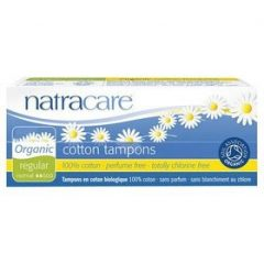 Natracare Organic Cotton Regular Non Applicator Tampon