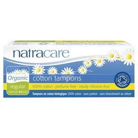 Natracare Organic Cotton Regular Non Applicator Tampon