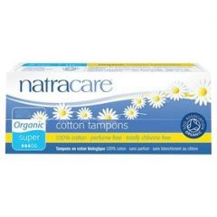 Natracare Organic Tampon Super Non Applicator