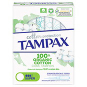 Tampax Organic Cotton Protection Super Tampon Applicator