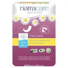 Natracare Organic Cotton Maxi Pad Super