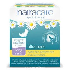 Natracare Organic Cotton Ultra Long Pad With Wings