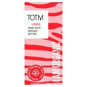 TOTM Organic Cotton Daily Liners Unwrapped