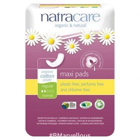 Natracare Organic Cotton Maxi Pad Regular