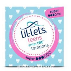 Lil-let's Teens SmartFit Super Non Applicator Tampon