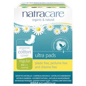 Natracare Organic Ultra Normal Regular Pad With Wings