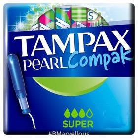 Tampax Pearl Compak Super