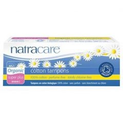 Natracare Organic Tampon Super Plus Non Applicator