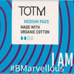 TOTM Organic Cotton Medium Pads