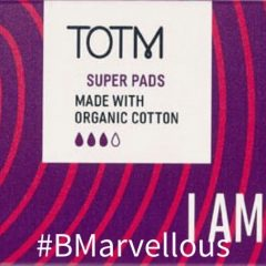 TOTM Organic Cotton Super Pads