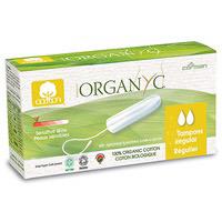 Organyc Non Applicator Tampon Regular