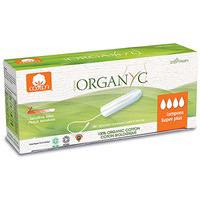 Organyc Non Applicator Tampon Super Plus