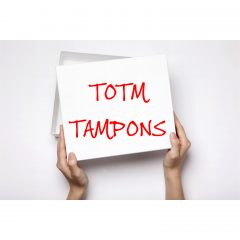 TOTM Organic Tampons